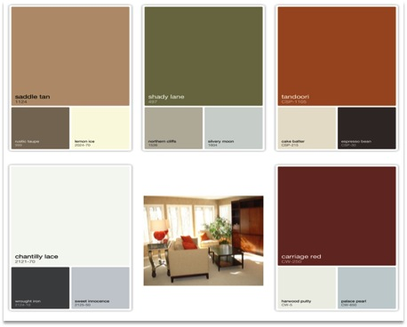 another color combination in this style category is the rich tandoori and carriage red colors which are a good contrast to some of the lighter neutrals