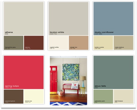 Country style paint colors design decoration for Country home interior paint colors