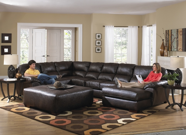 U-shaped Lawson Godiva Sectional Sofa
